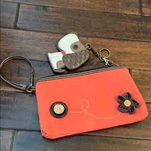 Chala Handbags Dog Lovers Zip Bag & Coin Purse